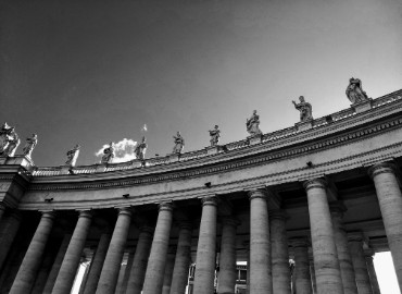 Photo of St. Peter's Square, Vatican City.