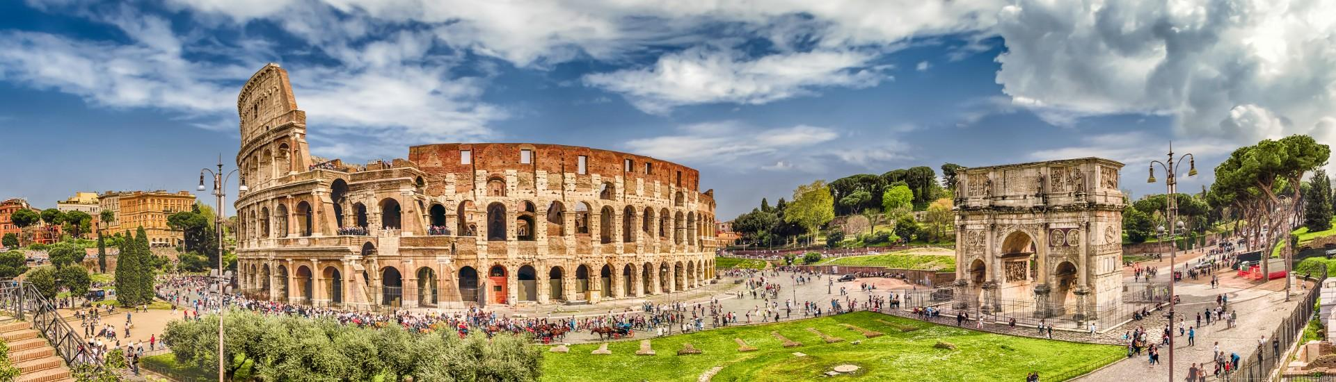 Photo of Colosseum in Rome, Italy